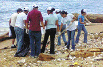 Voluntarios limpiarán playas