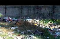 Vecinos reclaman por basura acumulada en Arroyo Chacarita