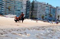 Quejas por basura en las playas