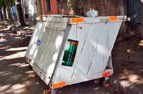 Comuna instaló nueva volqueta en el Barrio Varona