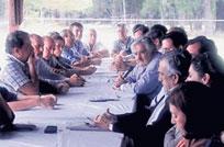 Intendentes acuerdan con Mujica proyectos regionales