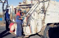 Contenedores de basura llegan a Colonia y Carmelo