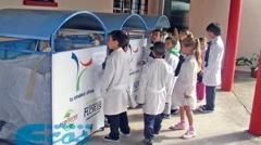 En Escuela No. 27 se inició plan piloto de gestión de materiales reciclables