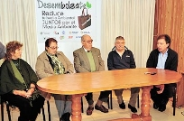 "Lanzaron ""Desembolsate"", campaña para reducir el uso de bolsas de nylon"