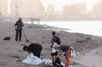Más de 30.000 desechos fueron hallados en las costas uruguayas
