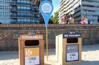 Playas de Montevideo: habrá contenedores para clasificar residuos